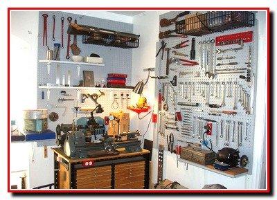 Гараж и хозяйственная мастерская