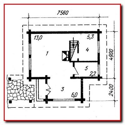 Проекты садовых домиков