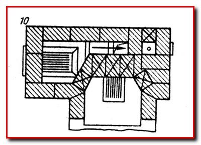 Отопление дачи. Печь-камин с духовкой и плитой