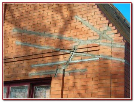 Ремонт трещин в стенах домов
